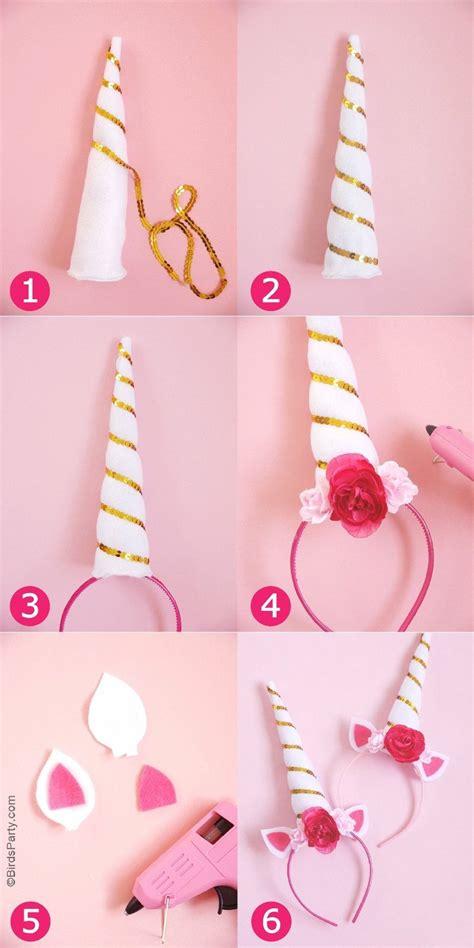 Easy Accessories by Diy Unicorn Headbands Unicorn Birthday