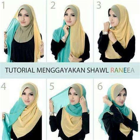 Contoh Jilbab Pashmina 7 Contoh Model Fashion Tutorial Selama Ramadhan