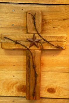 pin by barbed wire on rustic southwest native american wooden cross with light for wall out of old barn wood
