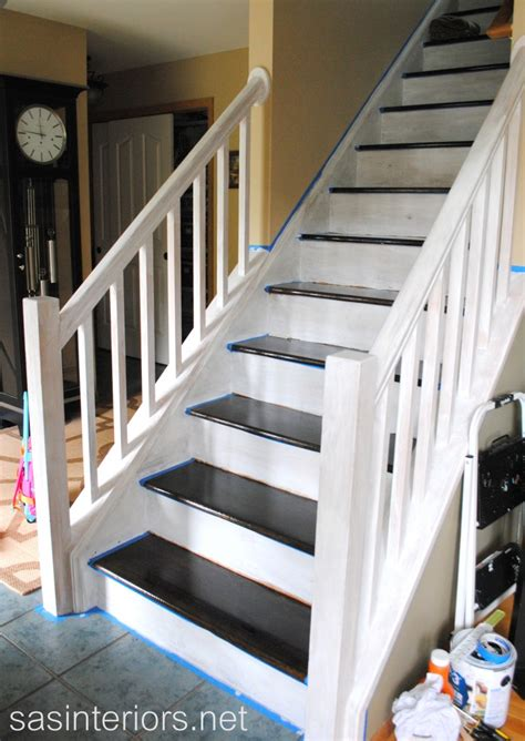 Stripping Paint From Wood Banisters by Staircase Carpet 2 Wood Diy Home Decor Diy Etc