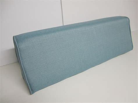 Daybed Pillows Wedge daybed wedge bolster foam and cover linen turquoise