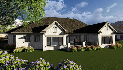 european house plans one story one story european house plan 890027ah architectural