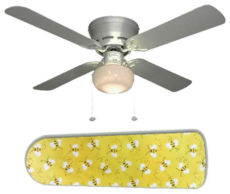 yellow ceiling fan sweet yellow bumblebees bees 42 quot ceiling fan and l