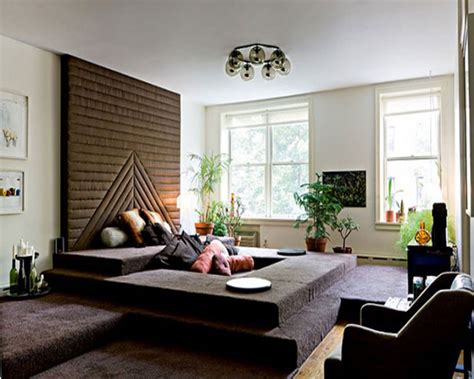 lounge room decor lounge converstion pit 2013 living room ideas design