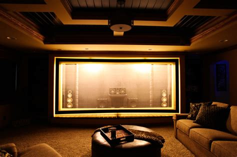 home theater screens martin theater acoustically transparent screen