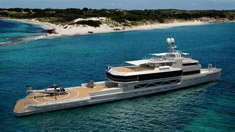 freeman boats australia 85m silver loft moving forward at silver yachts yacht