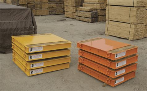 Steel Crane Outrigger Mats by Sterling Lumber S C Channel Reinforced Outrigger Mats