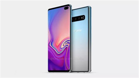 Samsung Galaxy S10 New Galaxy S10 Renders Show Display And Array