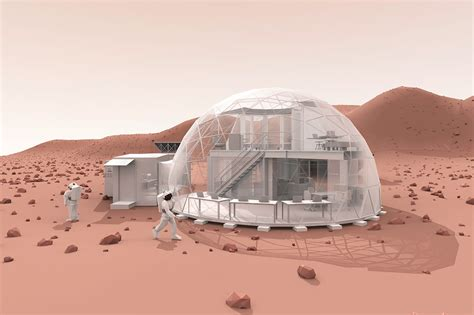 living small cheap and simple try a dome house treehugger welcome to mars hi seas and mars society kick off new