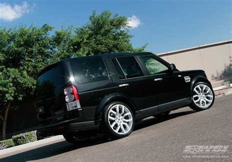 custom land rover lr4 2011 land rover lr4 with 22 quot es designs oxford 317 in