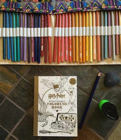 harry potter coloring book gramedia harry potter postcard coloring book harry potter amino