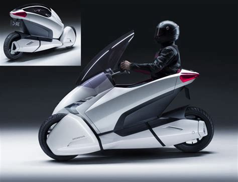 Dreirad Motorrad Honda by Honda Zeigt E Dreirad Prototyp 3r C Engadget Deutschland