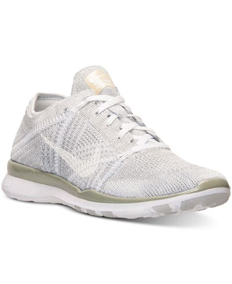 nike womans sneakers nike s free 5 0 tr flyknit metallic