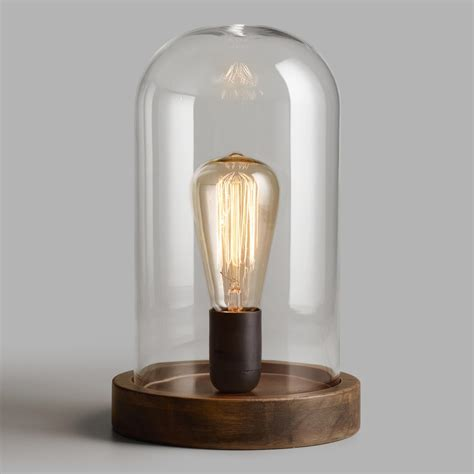 Online Shopping For Home Decorative Items edison glass cloche table lamp world market