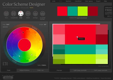 scheme design getting the colours right on your website using color