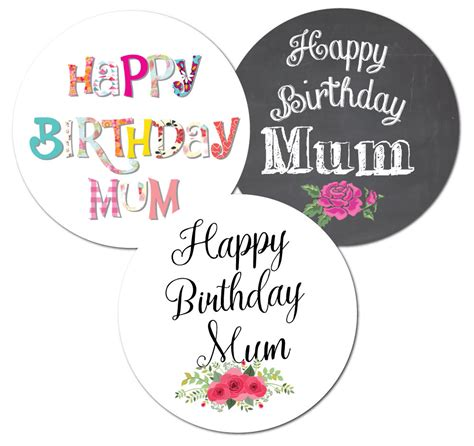 happy stickers for card happy birthday stickers choice of 3 designs cards
