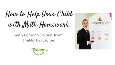 Help With Maths Homework by We Blab With The Maths Tutor About Helping With Math Homework