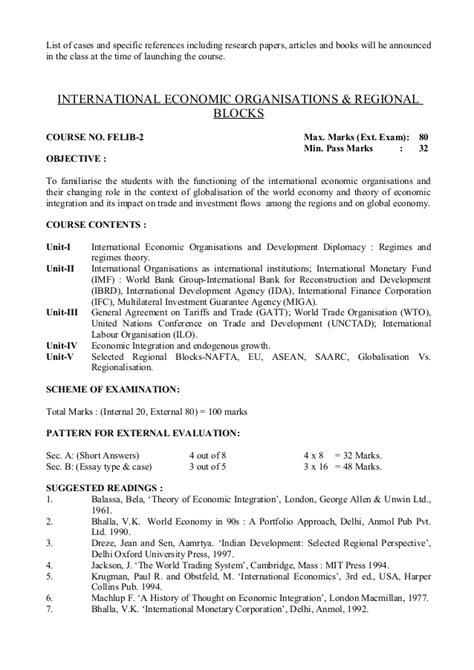 Bhopal Mba College List by B U Bhopal Mba Syllabus
