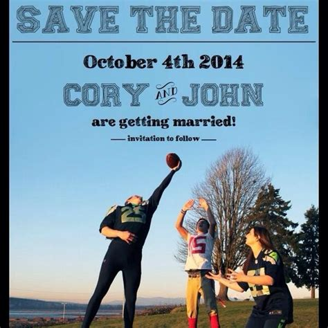 Wedding Announcement Buffalo News by Wedding Announcement From A Seahawks Fans Takes A Jab At