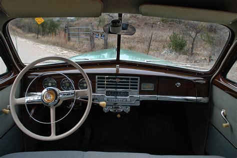 1950 Plymouth Interior by Photos By Carl Norberg