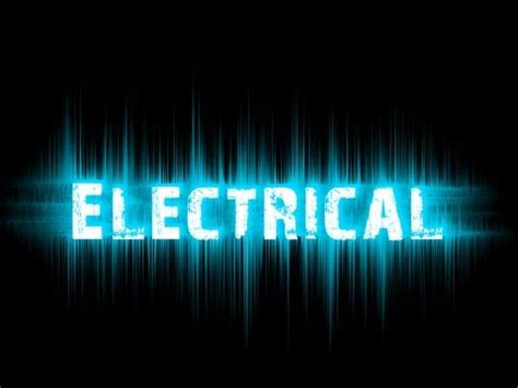 design effect power the electrical text effect in photoshop hd youtube