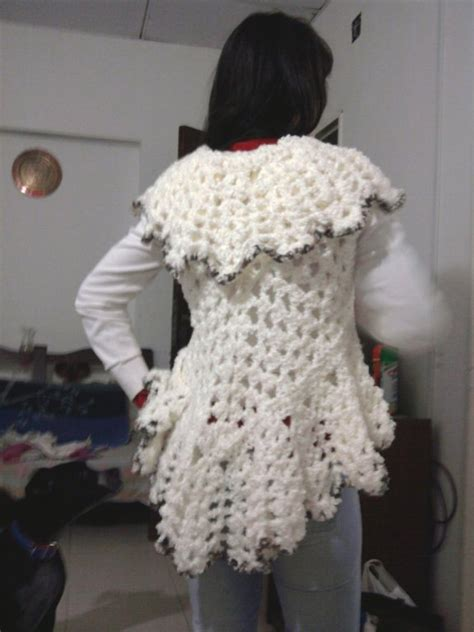 patrones de tejido gratis chaleco tejido en redondo chalecos a crochet redondos paso a paso imagui