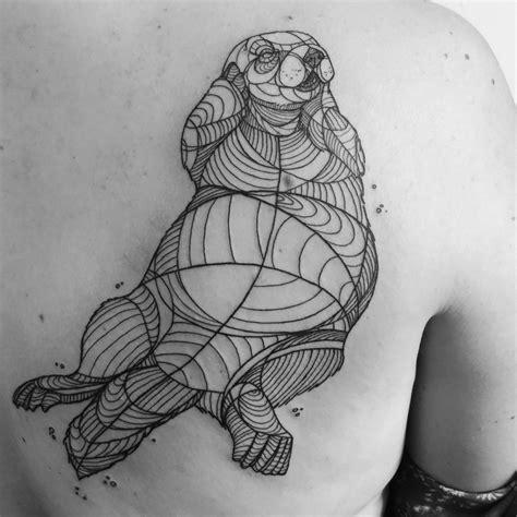 sea otter tattoo my sea otter otters