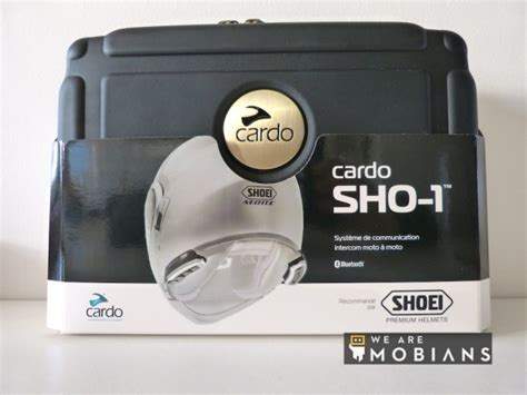 Sho Mobil Kit test test intercom moto cardo sho 1 forum de