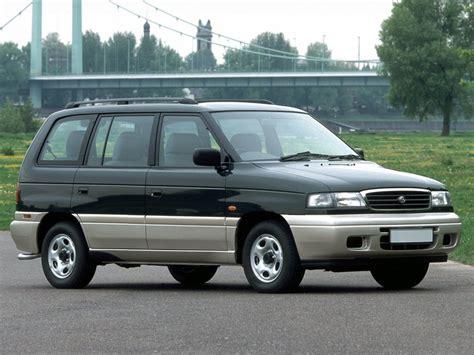 mazda mpv mazda mpv рестайлинг 1995 1996 1997 1998 1999 минивэн