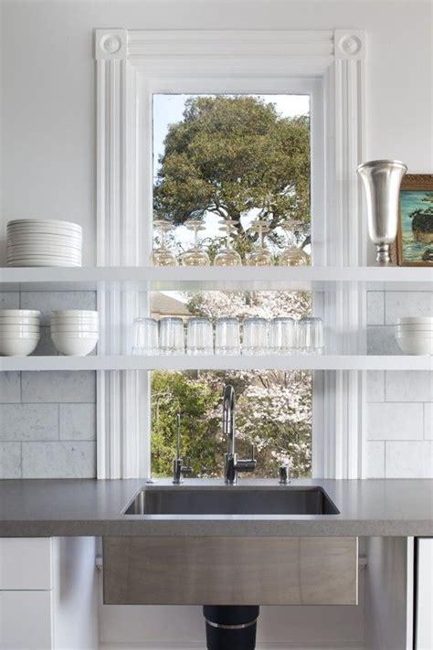 Shelf Window by Shelves In Front Of Window Kitchens