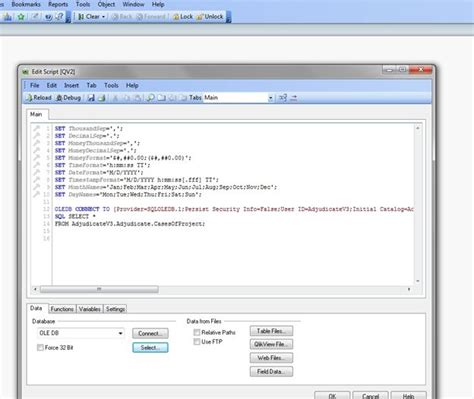 qlikview theme maker wizard data analysis and chart creation from sql server using
