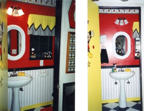 mickey mouse themed bathroom 93 best mickey mouse bathroom images on pinterest