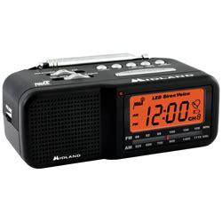 midland wr11m alarm clock weather alert radio 12volt travel 174
