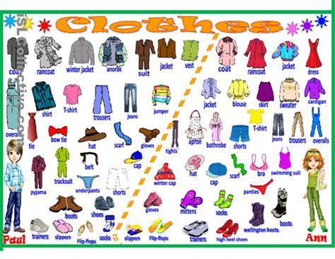 clothing vocabulary clothing vocabulary review carmen mar 237 a s english blog