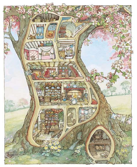 Make House Plans brambly hedge mouse house be a fun mum