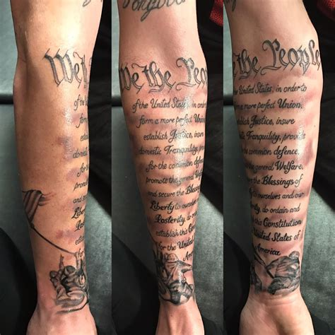 military and tattoos s