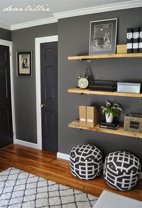 great colors and shelving for a s room benjamin kendall charcoal on the walls trim
