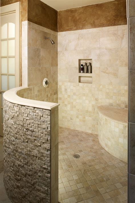 Shower With No Door Walk In Shower For The Basement Entry Rinse Before You Trle Into The Rest Of The Hosue