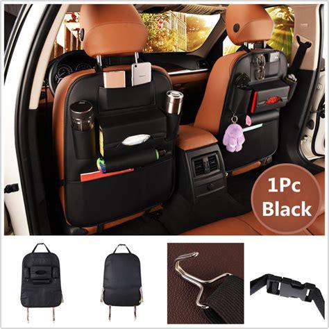 Bk264 Black Auto Car Organizer Car Seat Back Bag Organizer Storage Cup Phone Holder