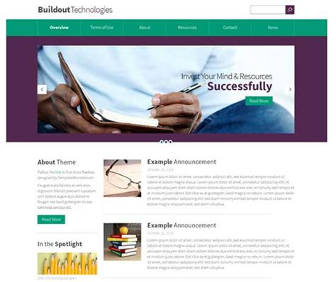 bootstrap templates for drupal 7 45 free and premium responsive drupal 7 themes