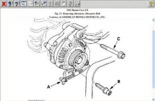 2002 Honda Civic Alternator Diagram For Honda Civic Alternator Pictures To Pin On