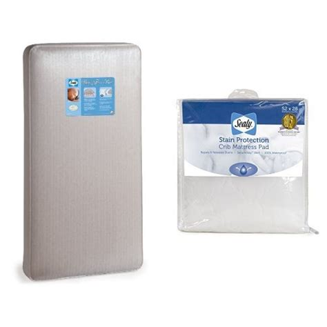 Sealy Stain Protection Crib Mattress Pad by Sealy Baby Firm Rest Crib Mattress And Stain Protection