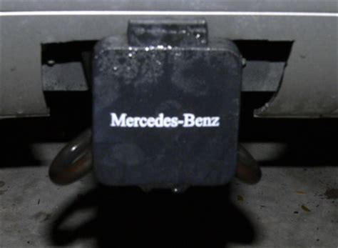 mercedes hitch cover trailer hitch cover mod for my ml55 peachparts mercedes