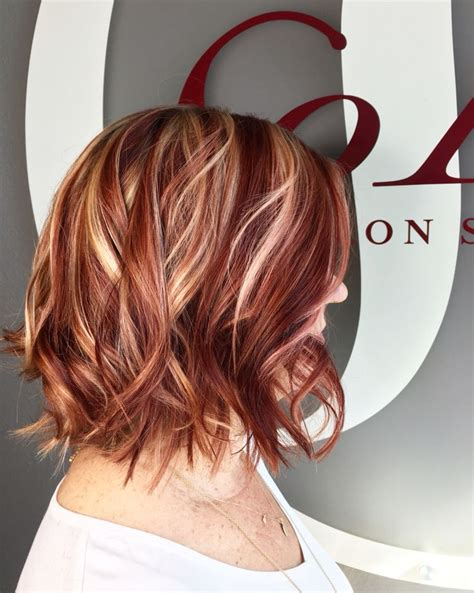 red hair highlights and lowlights the 25 best red blonde highlights ideas on pinterest