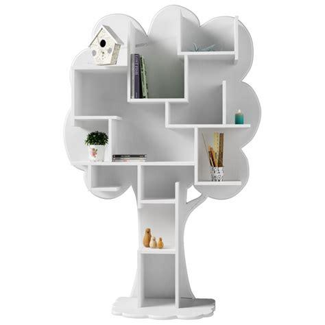 White Tree Bookcase tree bookcase louane mathy by bols original bookcase for