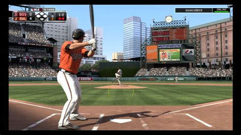 mlb 13 the show red sox orioles youtube