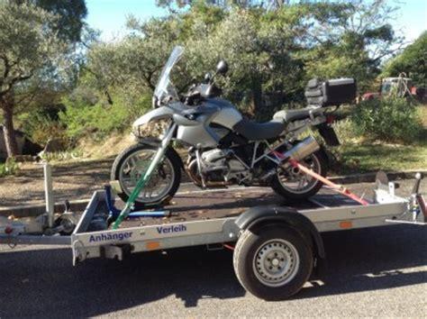Motorrad Zulassen In Frankreich by Verlei Absenk Anh 228 Nger