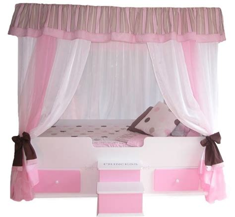 princess canopy beds for girls twin polka dot canopy top bedding girls bed girls