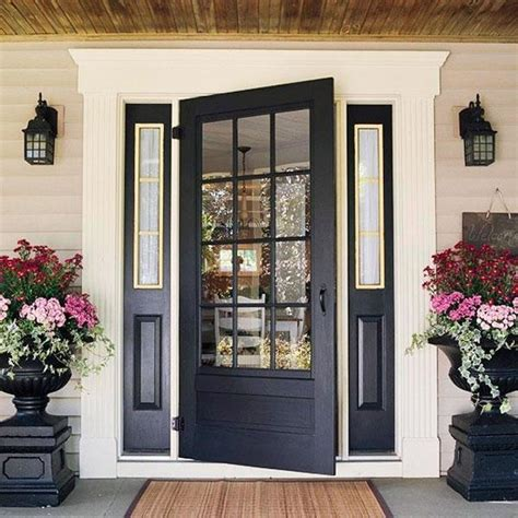 30 front door ideas and paint colors for exterior wood