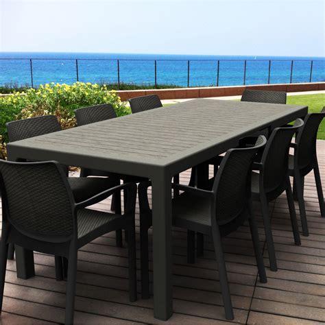 table jardin leclerc leclerc table jardin plastique